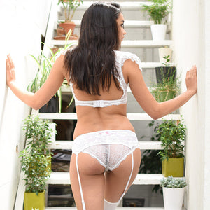 SALE Emiko Victoriana White Knickers - More Colours - Cherrylingerie
