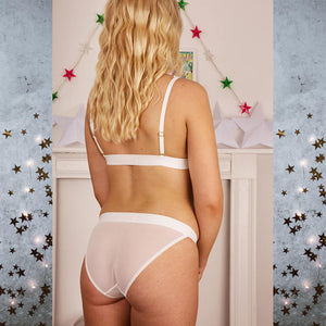 Astrid Stars System White Knickers - More Colours - Cherrylingerie