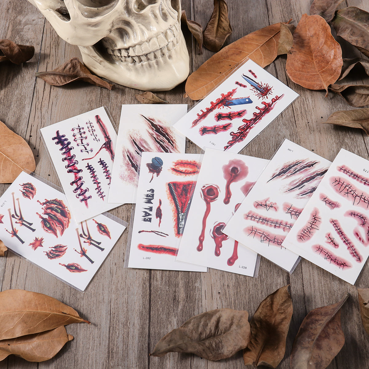 Halloween Temporary Tattoo - Be Easy Trendy