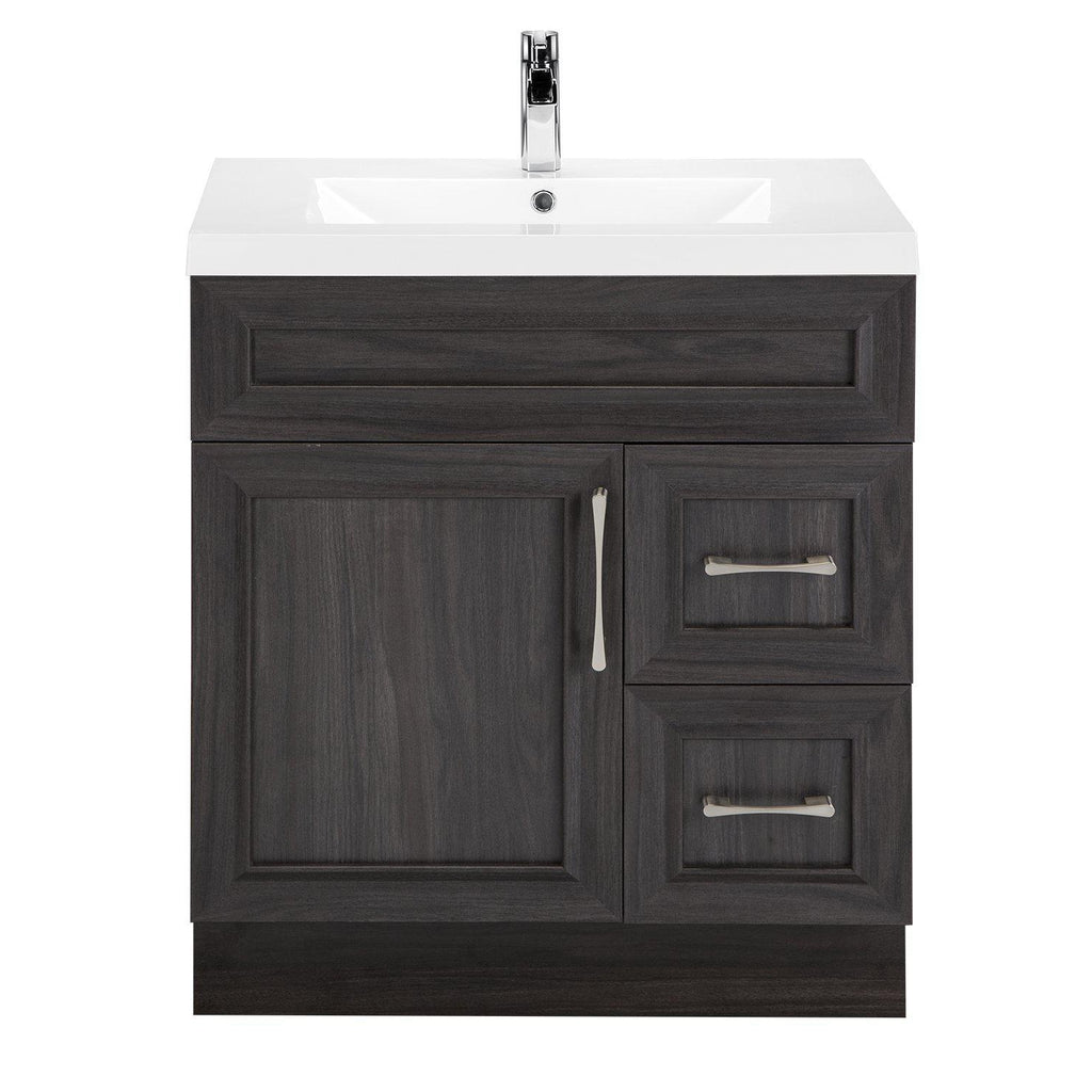 Cutler Kitchen & Bath Classic Transitional 30 in. Bathroom Vanity-Cutler Kitchen & Bath-Karoo Ash-themodernvanity