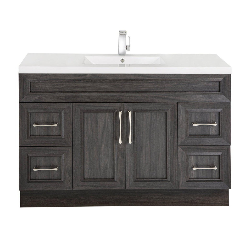 Cutler Kitchen & Bath Classic 48 in. Transitional Single Bathroom Vanity-Cutler Kitchen & Bath-Karoo Ash-themodernvanity