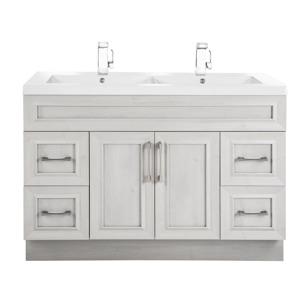 Cutler Kitchen & Bath Classic 48 in. Transitional Double Bathroom Vanity-Cutler Kitchen & Bath-Meadows Cove-themodernvanity