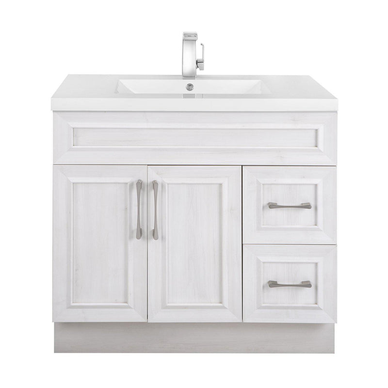 Cutler Kitchen & Bath Classic Transitional 36 in. Bathroom Vanity-Cutler Kitchen & Bath-Fogo Harbor-themodernvanity