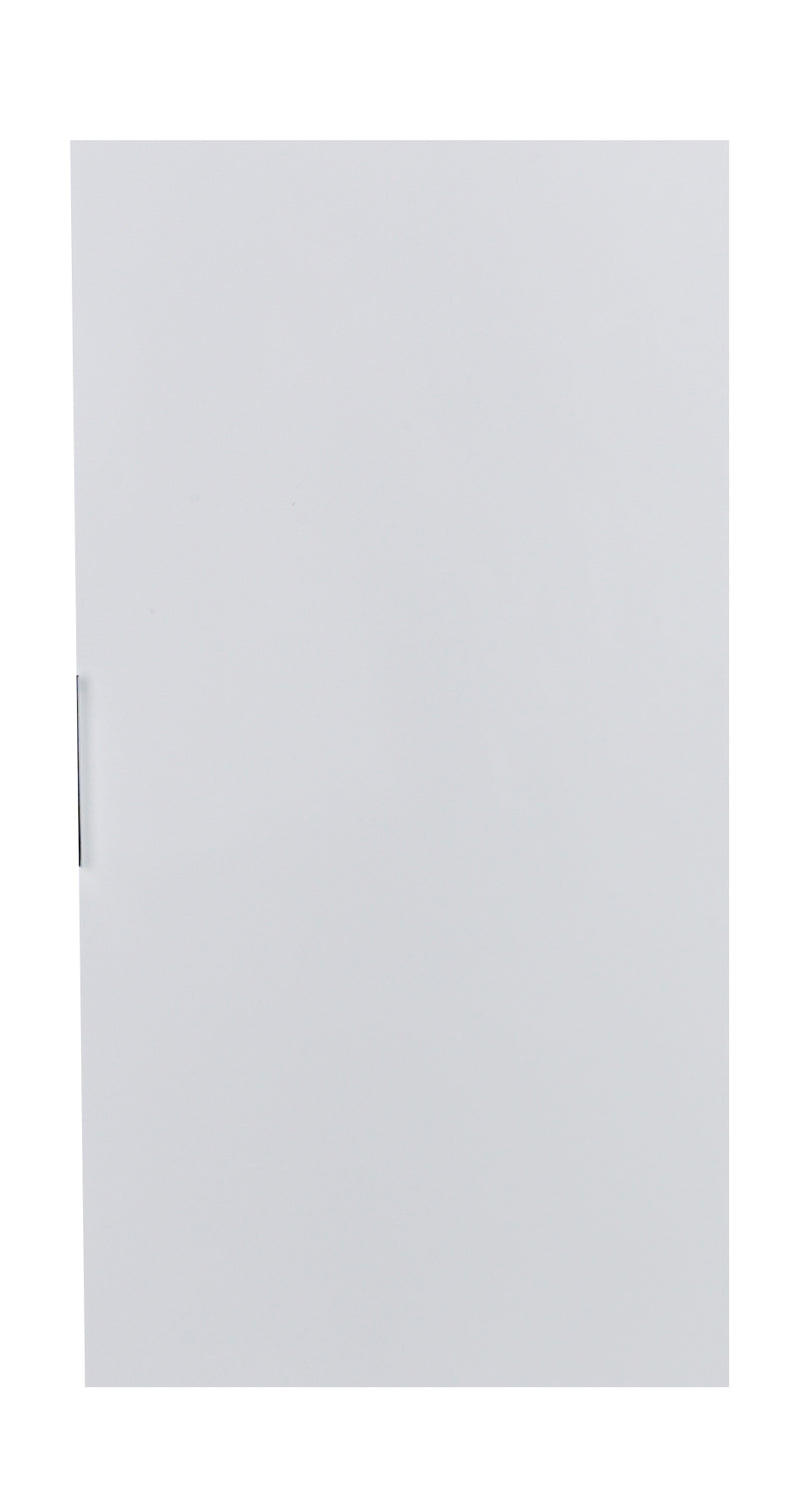 "Eviva Cup 13"" White Modern Wall Mount Side Cabinet Storage"