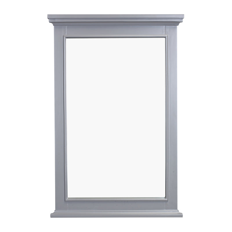 Eviva Elite Stamford Grey Full Framed Bathroom Vanity Mirror