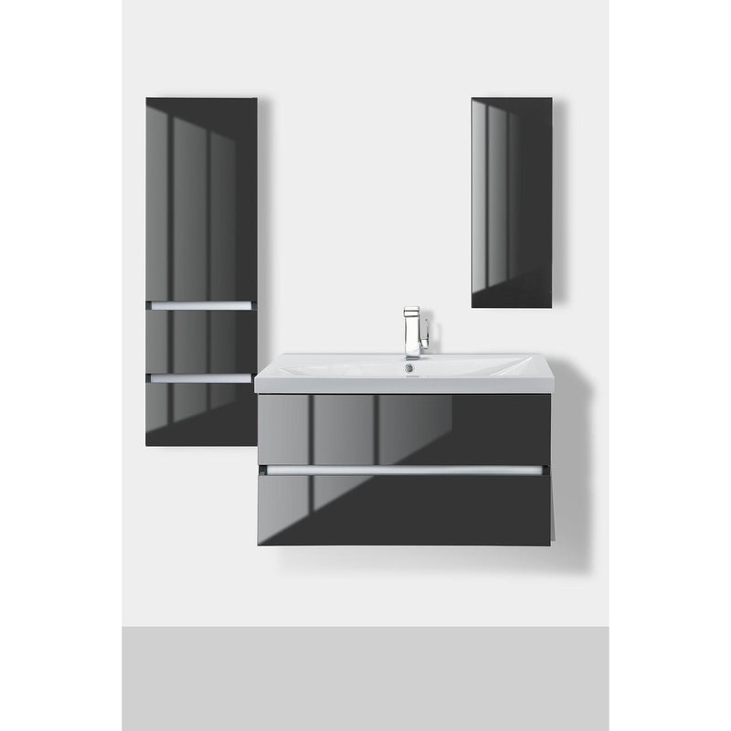 Cutler Kitchen & Bath Sangallo Gloss Medicine Cabinet-Cutler Kitchen & Bath-themodernvanity