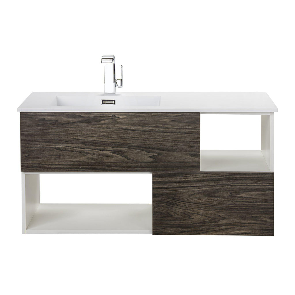 Cutler Kitchen & Bath Sangallo 42 in. Wall Hung Bathroom Vanity-Cutler Kitchen & Bath-Tete A Tete-themodernvanity