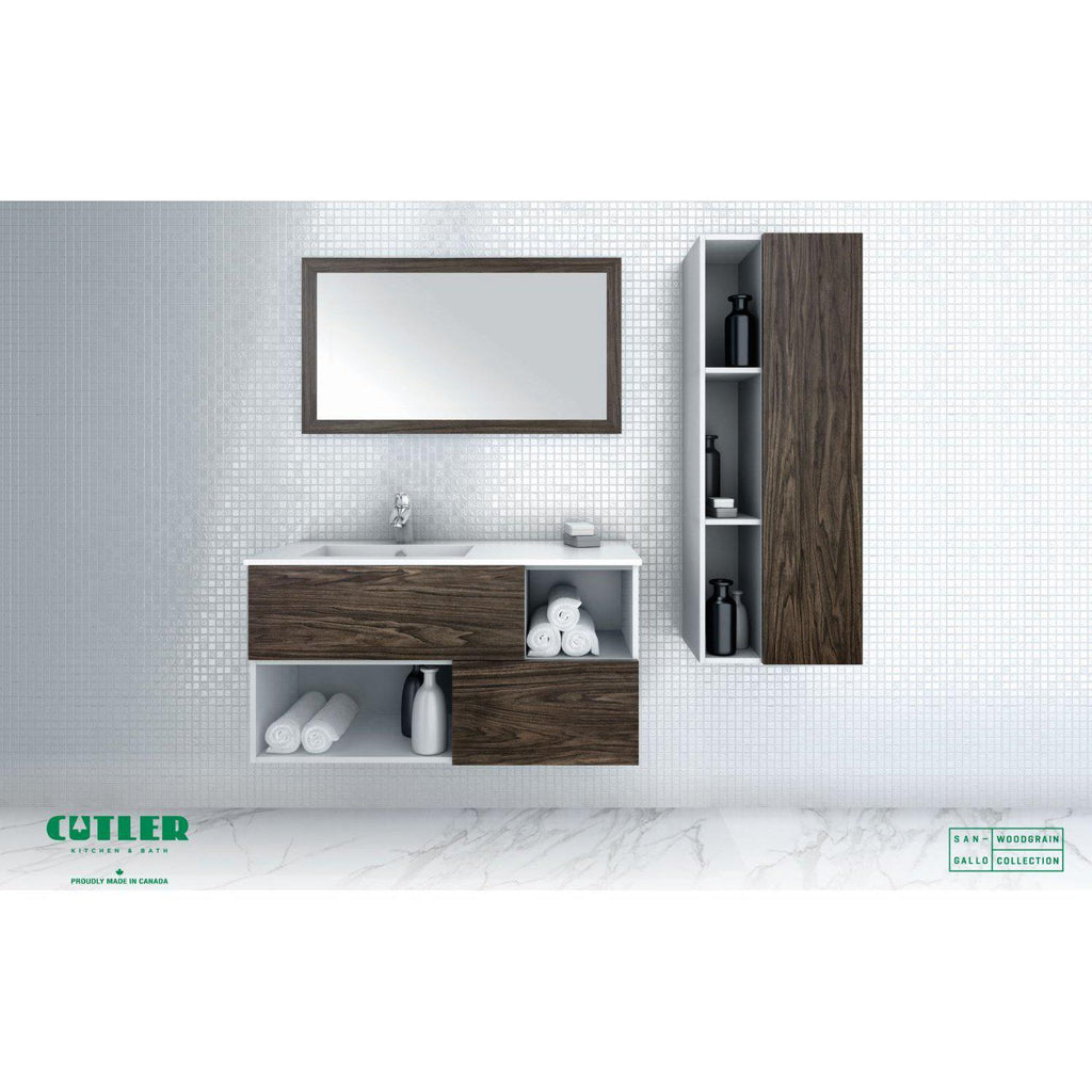 Cutler Kitchen & Bath Sangallo 42 in. Wall Hung Bathroom Vanity-Cutler Kitchen & Bath-themodernvanity