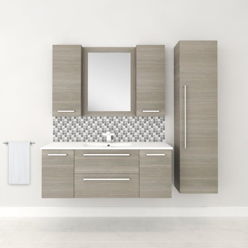 "Silhouette Wall Hung-48"" Single Bathroom Vanity Set-Cutler Kitchen & Bath-themodernvanity"