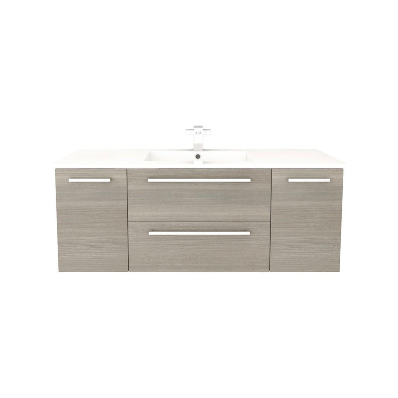 "Silhouette Wall Hung-48"" Single Bathroom Vanity Set-Cutler Kitchen & Bath-Aria-themodernvanity"