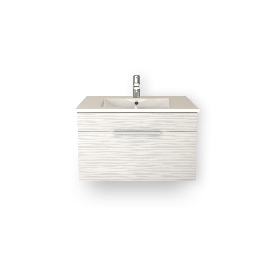 "Textures Wall Hung-30"" Single Bathroom Vanity Set-Cutler Kitchen & Bath-Contour-themodernvanity"