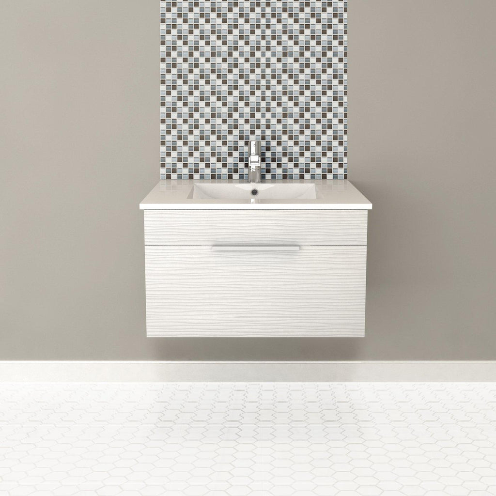 "Textures Wall Hung-30"" Single Bathroom Vanity Set-Cutler Kitchen & Bath-themodernvanity"