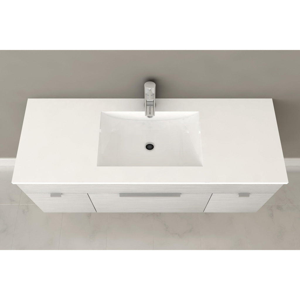"Textures Wall Hung-48"" Single Bathroom Vanity Set-Cutler Kitchen & Bath-themodernvanity"