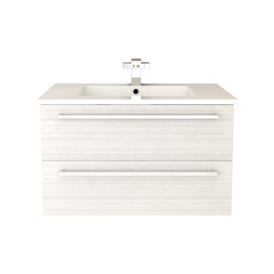 "Silhouette Wall Hung-30"" Single Bathroom Vanity Set-Cutler Kitchen & Bath-White Chocolate-themodernvanity"