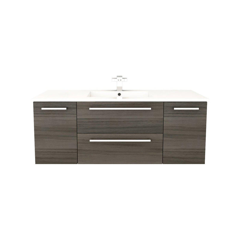 "Silhouette Wall Hung-48"" Single Bathroom Vanity Set-Cutler Kitchen & Bath-Zambukka-themodernvanity"