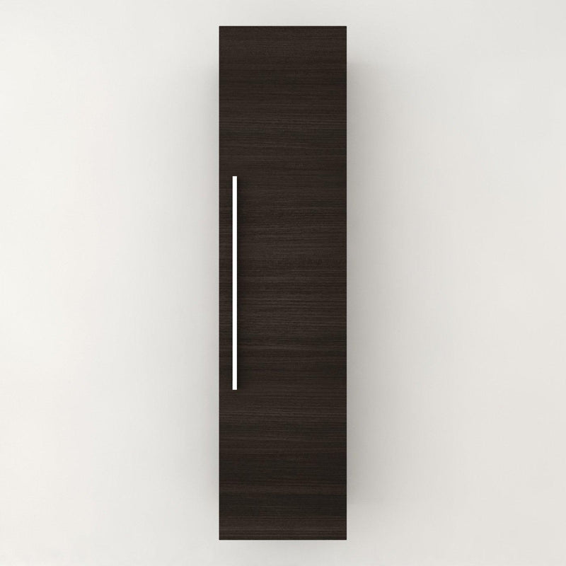 Cutler Kitchen & Bath Silhouette Linen Tower-Cutler Kitchen & Bath-Dark Chocolate-themodernvanity