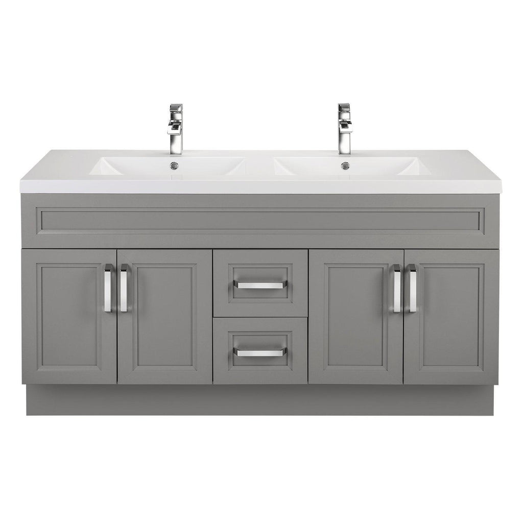 Cutler Kitchen & Bath Urban 60 in. Double Bathroom Vanity-Cutler Kitchen & Bath-DayBreak-themodernvanity