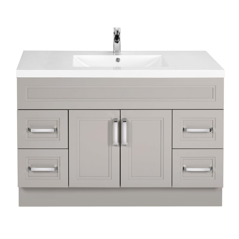 "Silhouette Wall Hung-48"" Single Bathroom Vanity Set"
