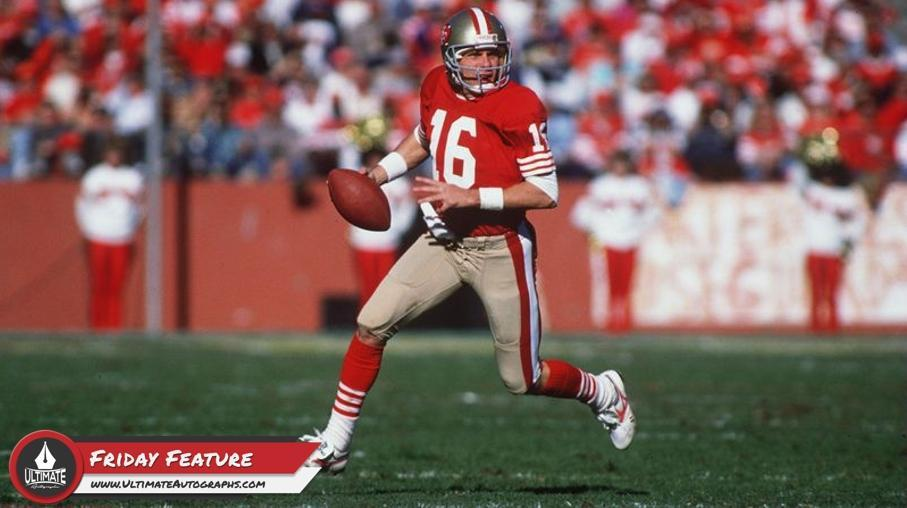 26d4565cca7 Friday Featured Athlete  San Francisco 49ers and NFL Legend Joe Montana