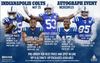 Indianapolis Colts Autograph Signing Event