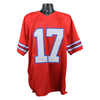 Josh Allen Buffalo Bills Signed Red Custom Jersey (JSA COA)