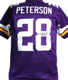 Adrian Peterson Minnesota Vikings Signed Purple Pro Style Jersey (BAS COA)