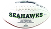 DK Metcalf Seattle Seahawks Signed Seattle Seahawks Logo Football (BAS COA)