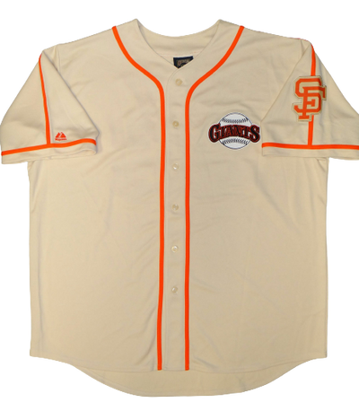 Gaylord Perry San Francisco Giants Signed San Francisco Giants Cooperstown Jersey with HOF (JSA COA)