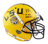 Justin Jefferson LSU Tigers Signed LSU Full-sized Schutt Authentic Helmet with Insc (BAS COA)