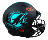 Tua Tagovailoa Miami Dolphins Signed Dolphins Full-sized Eclipse Speed Authentic Helmet (FAN COA)
