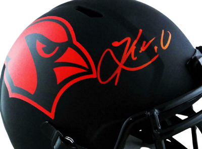 Kyler Murray Arizona Cardinals Signed Arizona Cardinals Full-sized Eclipse Helmet (BAS COA)