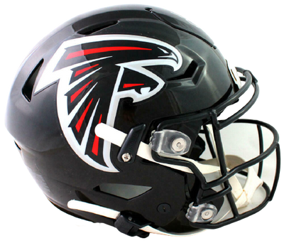 Julio Jones Atlanta Falcons Signed Full-sized 2019 SpeedFlex Helmet (BAS COA)