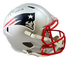 Ty Law New England Patriots Signed New England Patriots Full-sized Speed Helmet with HOF (BAS COA)