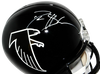 Deion Sanders Atlanta Falcons Signed Full-sized 90-02 TB Helmet (JSA COA)