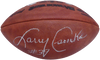 Larry Csonka Miami Dolphins Signed NFL SB Leather Dolphins Football (BAS COA)
