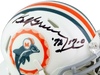 Bob Griese Miami Dolphins Signed Miami Dolphins 1966 TB Speed Mini Helmet with Insc (JSA COA)