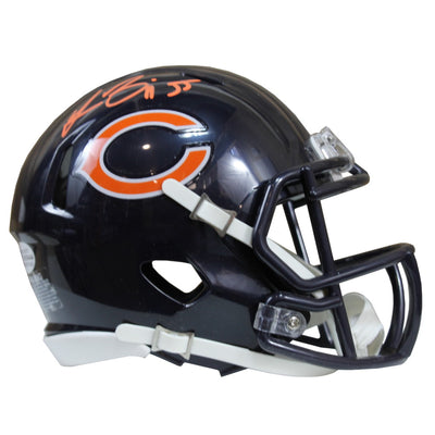 Lance Briggs Autographed Chicago Bears Riddell Speed Mini Helmet w/ Beckett COA