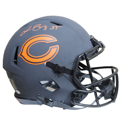 Lance Briggs Chicago Bears Signed Riddell Speed Authentic Eclipse Full Size Helmet (BAS COA)
