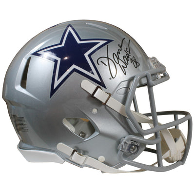 Darren Woodson Autographed Dallas Cowboys Riddell Speed Authentic Full Size Helmet w/ JSA COA