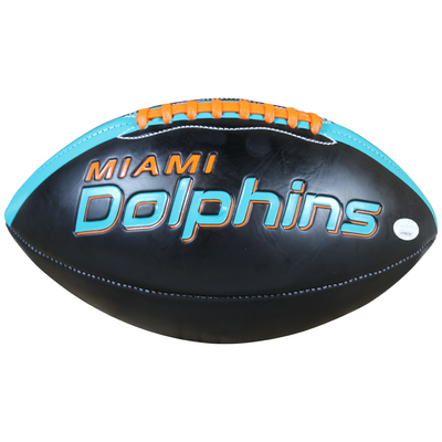 Devante Parker Autographed Miami Dolphins Black Panel Football w/ JSA COA