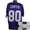 Cris Carter Minnesota Vikings Signed Purple Custom Jersey (JSA COA)