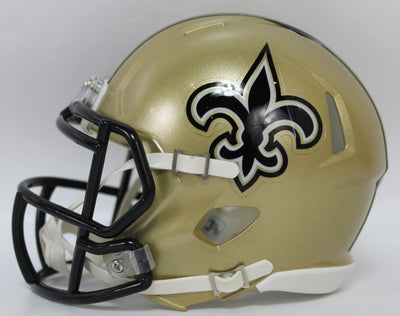 Mark Ingram Autographed New Orleans Saints Mini Helmet w/ Beckett COA