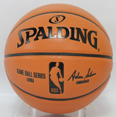 Josh Hart Autographed Los Angeles Spalding Basketball w/ Steiner COA