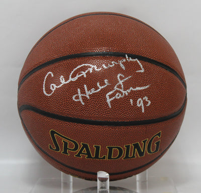 Calvin Murphy Autographed Houston Rockets Spalding Basketball w/ Inscription Tristar COA