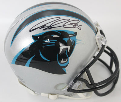 Greg Olsen Autographed Carolina Panthers Mini Helmet w/ Beckett COA