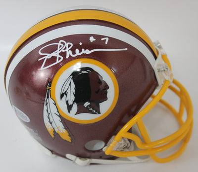Joe Theismann Autographed Washington Redskins Mini Helmet w/ Beckett COA