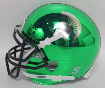 Le'Veon Bell Autographed Michigan State Spartans Chrome Mini Helmet w/ JSA COA