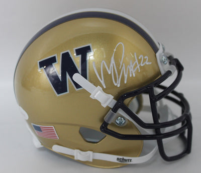 Marcus Peters Autographed Washington Huskies Mini Helmet w/ JSA COA