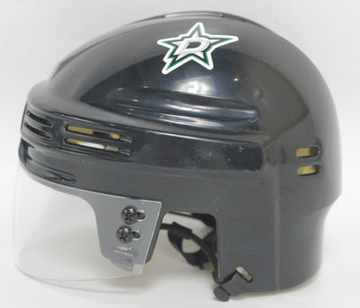 Brett Hull Autographed Dallas Stars Mini Helmet w/ Inscription JSA COA