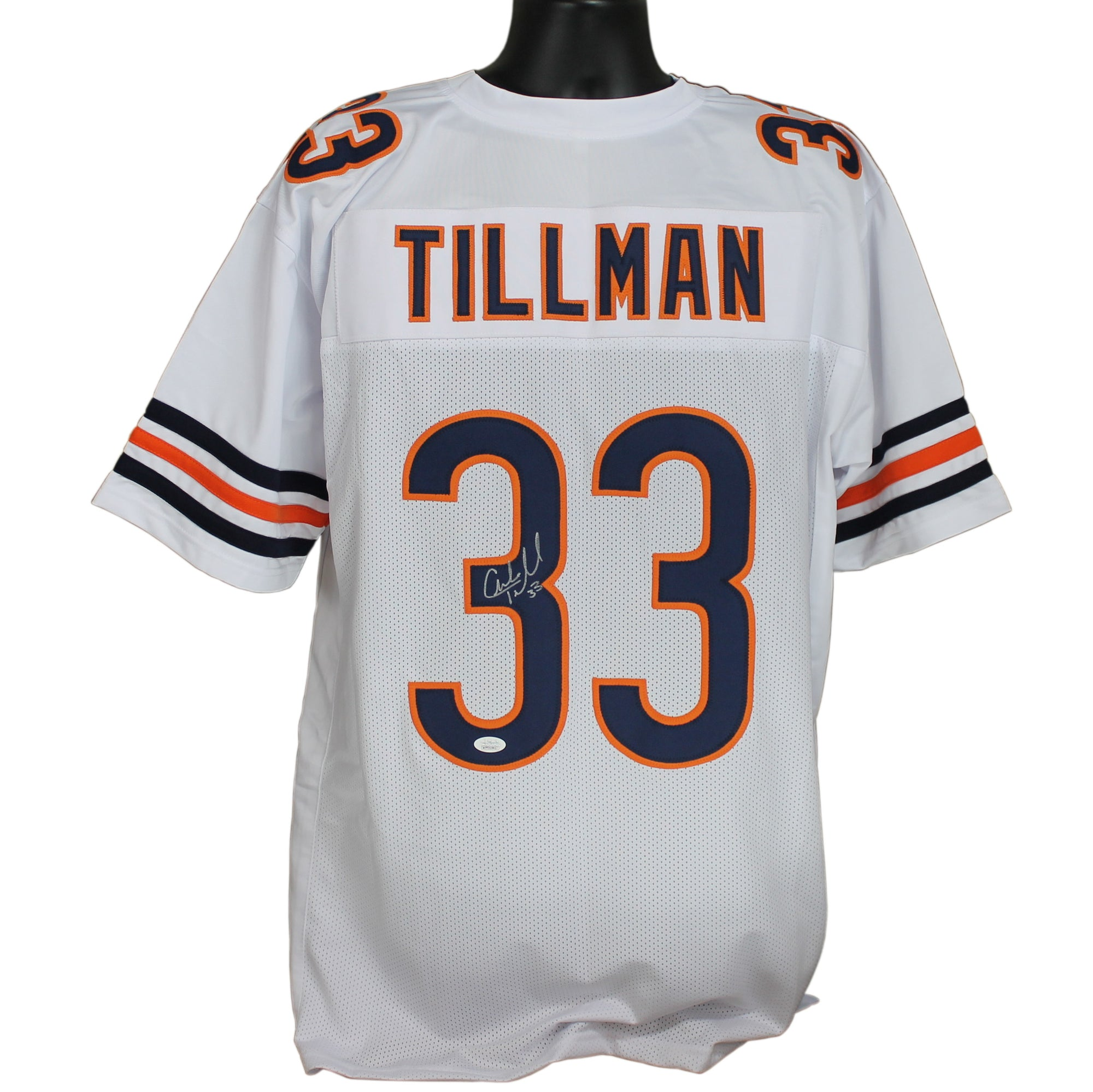 Charles Tillman Autographed Chicago Bears White Custom Jersey w ...